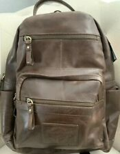 Rawlings Genuine Leather Medium Backpack Brown RS10057-BRN NWT