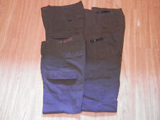 4 Pair Propper BDU Tactical Pants Button Fly Ripstop Brown Sm./Long 27-31W/32-35