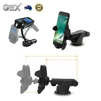 For iPhone Samsung Car Fast Charger Bluetooth Fm Transmitter Holder Gex Kit