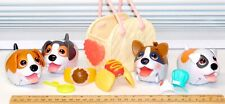 Beagle Boxer Foodie Jack Russel Terrier Set Chubby Puppies Spin Master Set of 4
