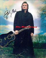 Johnny Cash Autographed Signed 8x10 Photo Reprint