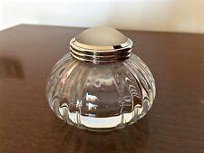 Calamaio ORIGINALE Cartier cristallo inkwell pen no montblanc ink