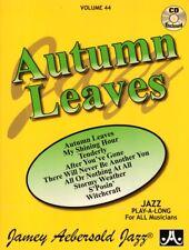 Jamey Aebersold Jazz Play-Along 44 Autumn Leaves Noten mit CD