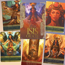 EGYPTIAN GODDESS  ISIS ORACLE CARDS & BOOK ANCIENT TEACHINGS HIGH PRIESTESS