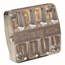 "Oberg 4"" 400B Series Billet Oil/Trans/Dif Filter w/ 115 Micron Screen - SKU 4115"