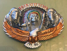 """EAGLE SW WARRIOR BELT BUCKLE NEW APPROXIMATELY 3 1/2"""" X 2 3/4"""""""