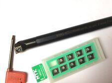 CCMT/CCGT-Bohrstange S16Q SCLCR 09 mit Wendeplatten für EDELSTAHL !!  NEU!!
