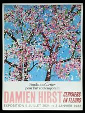 Damien Hirst - Affiche poster 2/6 Fondation cartier - Fragility Blossom