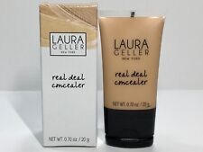 Laura Geller REAL DEAL Concealer Medium Full Sz .70 oz New In Box