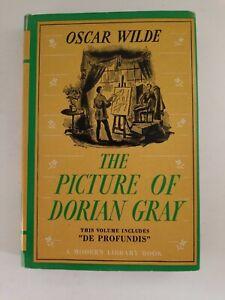 Picture of Dorian Gray Oscar Wilde Modern Library HC with DJ + De Profundis 1954