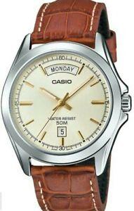Casio Watch  MTP-1370L-9A  Mans Analog Clasic Watch  50m    mtp1370