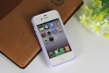 Bumper Transparent Soft Skin Back Case Cover Protector For Apple iPhone 4S 4 4G