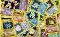 """Vintage Pokemon 10 Card """"REPACK"""" 1st Edition & Holo Rare, and Rare INCLUDED!"""