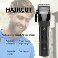 Best KM-2850 Men Electric Cordless Hair Clipper Cutter Trimmer Razor Shaver