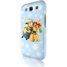 """Minion """"Carls Banana"""" Tasche Cover Case Schutzhülle für Samsung Galaxy S3 i9300"""