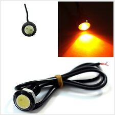 1pc SUV 18mm Amber COB LED Eagle Eye Tail Light Daytime Running Light Bulb Sale