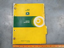 original John Deere 8630 4Wd Tractor Parts Manual Catalog Pc-1486 1978