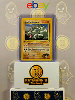 Brock's Rhyhorn 27/132 1st Edition NM Gym Heroes Non-Holo Pokemon Card