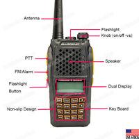 BAOFENG UV-6R Dual-Band Two-way Walkie-Talkie VHF/UHF 136-174/400-520MHz Radio
