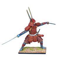 SAM040 Samurai Warrior Attacking with Dual Katanas by First Legion