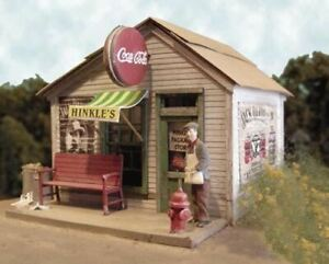 BAR MILLS S SCALE HINKLE'S PACKAGE STORE KIT   193