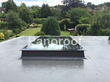 Flat Roof Skylights Rooflight Triple Glazed self clean Clear/Blue Tint Overstock