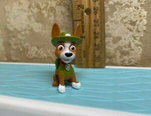 Paw Patrol mini figure tracker hat pup dog cake topper