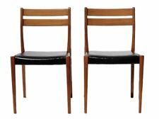 Danish Style Mid Century Teak Dining Chairs By Svegards Markaryd 1960 Set Of 2