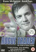 Rogue Trader The Story Of Nick Leeson Ewan Mcgregor Anna Friel GB DVD Nuevo