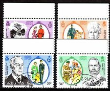 Isle of Man - 1985 Society for soldier/sailor families - Mi. 288-91 VFU