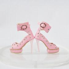 "Sherry Shoes/Sandals/Pumps for 16""Ellowyne Wilde BJD Delilah Noir Doll  4sds5"