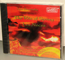 CLARITY CD CCD-1005: Stravinsky - Rite of Spring & Les Noces - OOP 1993 USA SS