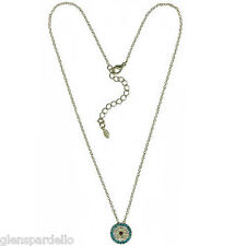 Kirks Folly I See You Necklace glistening colored crystals  S5196G