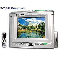 AUTORADIO CON TV RDS/EON CON SINTONIZ. TV - MAJESTIC TVC/5 R