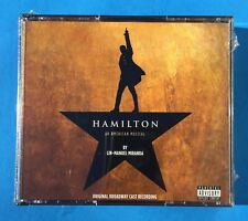 HAMILTON: An American Musical ~ Original Broadway Cast Recording 2 CD Set NEW