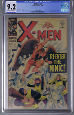 X-Men # 27 Marvel 1966 CGC 9.2 (NEAR MINT -) Scarlet Witch & Quicksilver app.