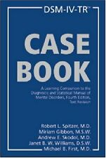DSM-IV-TR Casebook: A Learning Companion to the Diagnostic and Statistical Manua