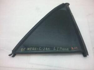 L/R Left Rear Door Vent Small Glass Tinted C280 94-00 MERCEDES C-CLASS 4-10-12N