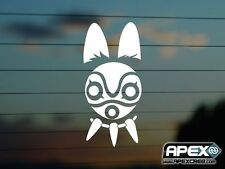 Princess Mononokee Mask - Ghibli Inspired Anime Vinyl Sticker DS-VN-AN-00011