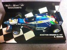 Benetton Renault B197 #8 G. Berger 1997 1/43 F1 minichamps