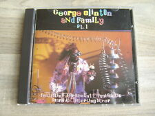 PARLIAMENT FUNKADELIC g p funk CD GEORGE CLINTON And Family Pt 1 bootsy collins