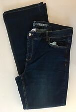 NWT Route 66 Women's Midrise Slim Fit Bootleg Jeans Size:32 (32 x 34)