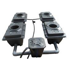 Rush R-DWC - 82cm 2 Lane 4 Pots 60L With Flexitank 100L Hydroponic System