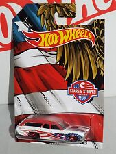 Hot Wheels Wal-Mart Stars & Stripes Series 6 / 10 '71 Plymouth Satellite S/W