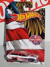 Hot Wheels Wal-Mart Stars & Stripes Series 6 / 10 '71 Plymouth Satellite S/W