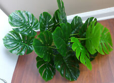 "18 Leaves Artificial Palm Turtle Leaf Tree Plants (22"" Tall)"