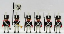 PREUSSEN GARDE SOLDATEN OFFIZIER FAHNE Playmobil zu Hussard Prussian vs Napoleon