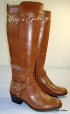 GUESS High Top  Faux Shoe Shoes Booties Boot  Boots  Leather Knee  Sz 5.5