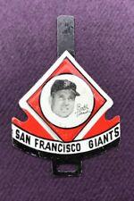 1958 Vintage Armour Tab San Francisco Giants Bobby Thomson Baseball Pin