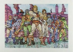 MADSAKI + MASTERS OF THE UNIVERSE Hero Print IN HAND SHIPS ASAP FREE SHIP